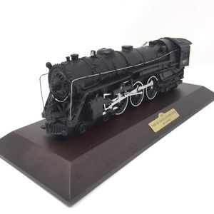 1937 700E Hudson Locomotive 5344 Train Resin Decor
